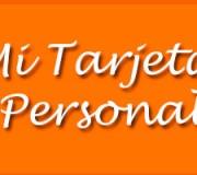 Tarjeta-Personal